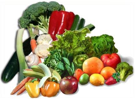 Verduras – sus propiedades
