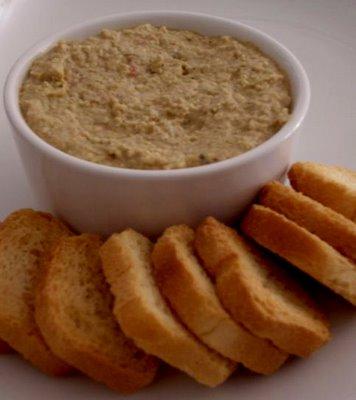 Paté de mejillones (Thermomix)