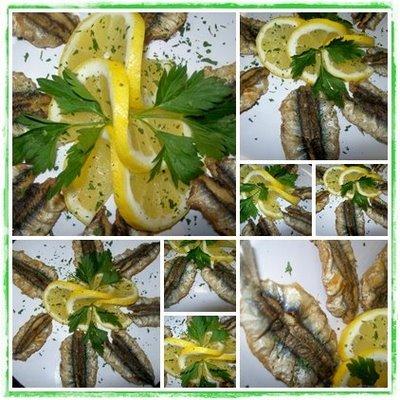 Boquerones al limón con sorpresa