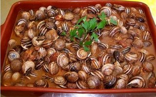Guiso de caracoles