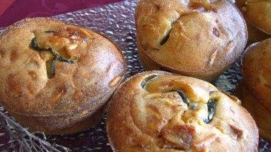 Pequeños cakes con aceite de oliva