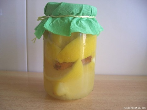 Limones confitados
