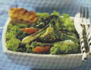 Ensalada tibia de verduras