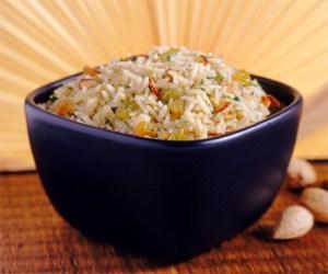 arroz pilaf verde