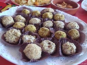 bombones de pistachos