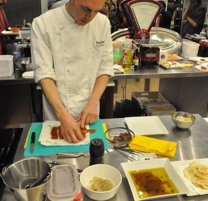 Lusciano Fasciolo nos enseña su visión de la alta cocina