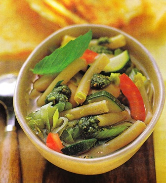 Minestrone de verduras