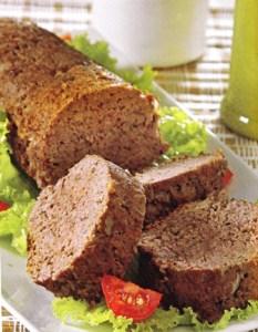 Pan de carne con avena