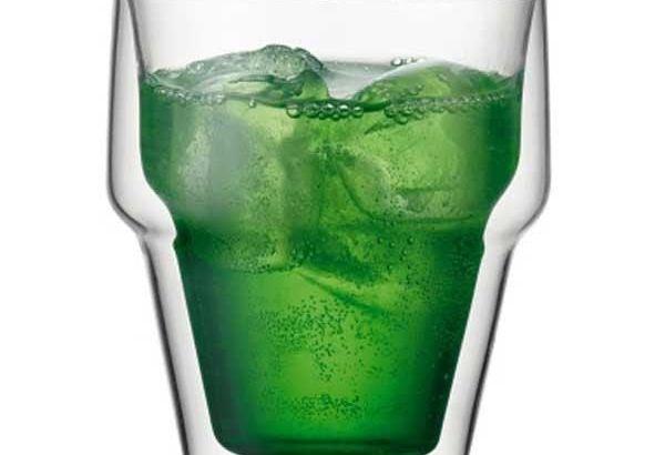 Vasos dobles para mantener la bebida fresca