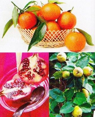 Las frutas de otoño