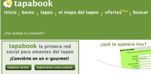 tapabook red social para amantes del tapeo