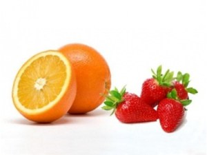 fresas naranjas