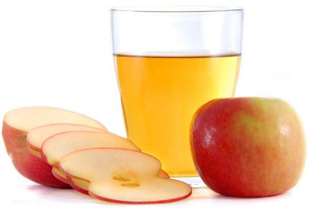 Zumo de manzana casero