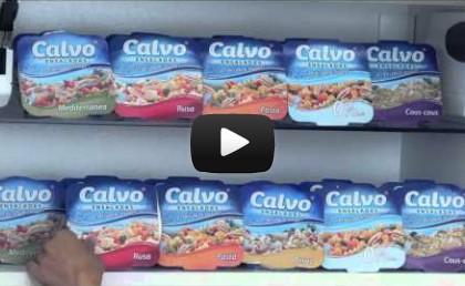 Nuevas ensaladas Calvo