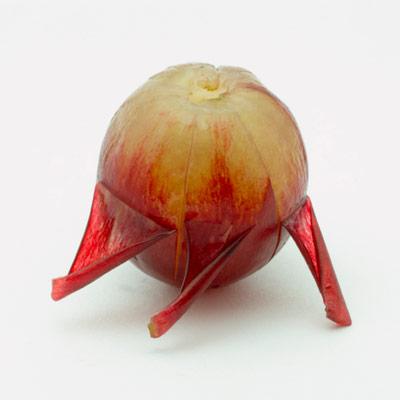 Una idea fabulosa con uvas para Halloween