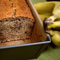 Pan casero de banana