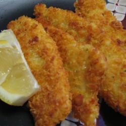 Filetes crujientes de pescado