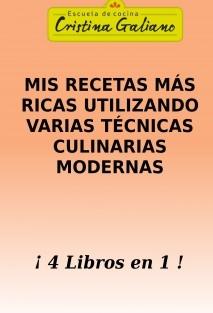 Autoridades de la cocina: Cristina Galiano