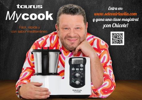 Alberto Chicote se le va la olla con Taurus MyCook