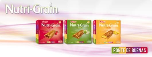 Conoce las nuevas galletas Kellogg's Nutri-Grain