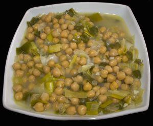 garbanzos verduras 5
