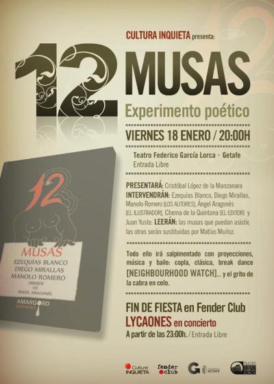 Cartel_presentación 12 Musas