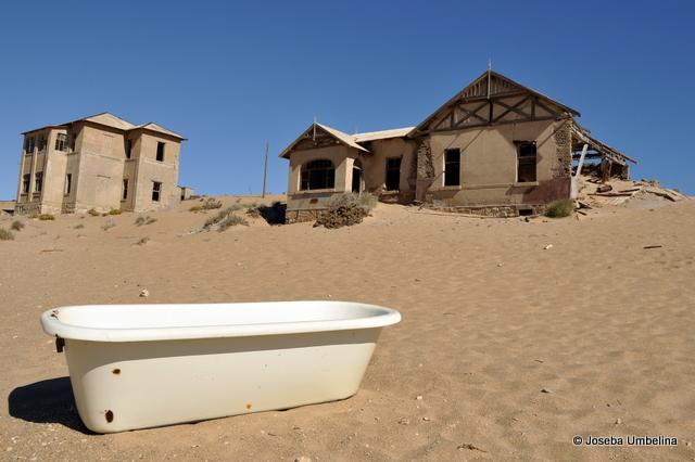 Kolmanskop, una ciudad fantasma en Namibia