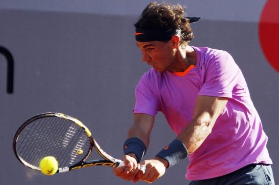 Rafael Nadal en el torneo Viña del Mar, Chile. Foto: Efe