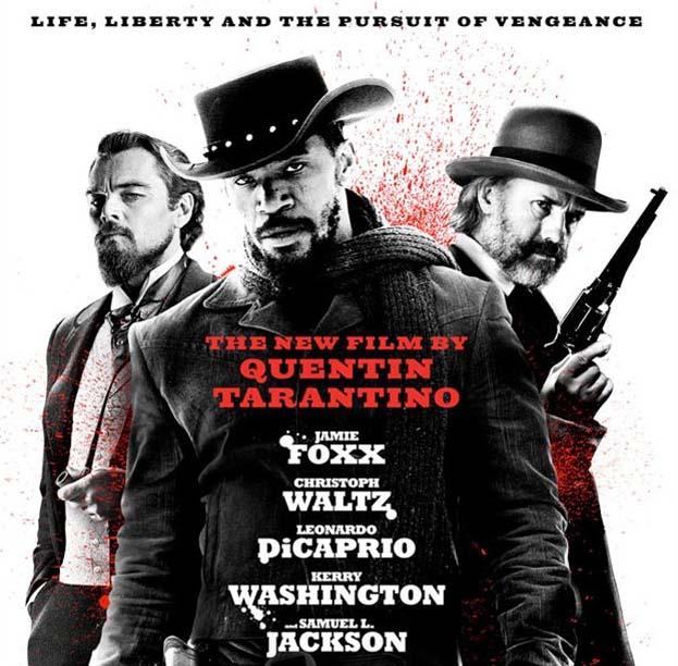 Cartel de la película Django desencadenado.