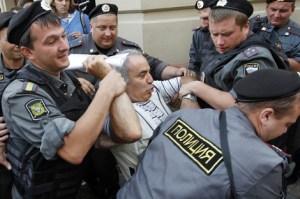 kasparov detenido