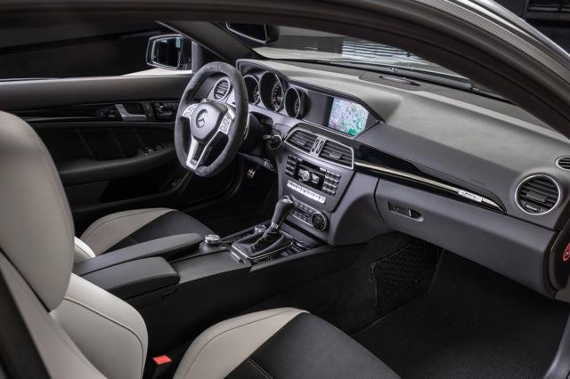 C63 AMG 507 Edition interior