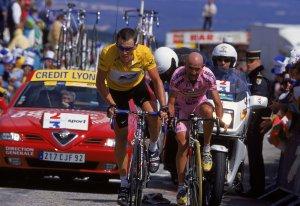 Lance Armstrong/Marco Pantani
