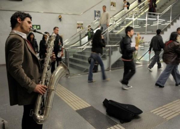 musicos metro