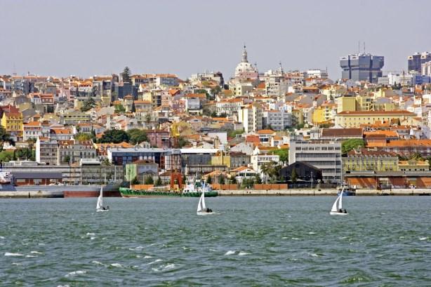 view at lisbon portugal