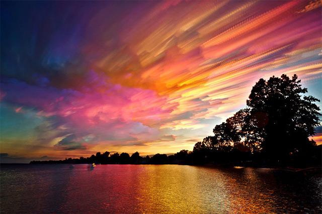 cielo de colores imposibles 4