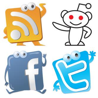 iconos-sociales-con-rostros-simpticos