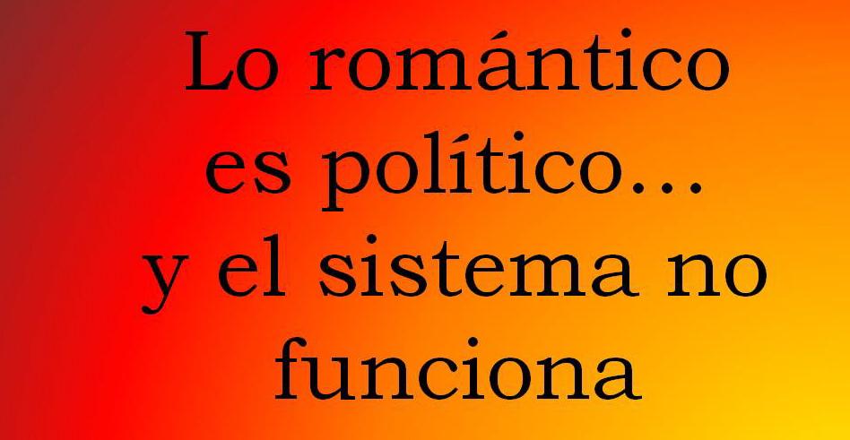 lo romantico es politico