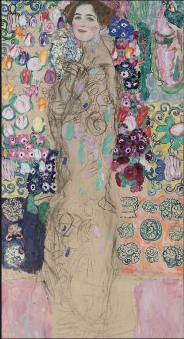 Retrato postumo de Ria Munk III (1917-18), Gustav Klimt. Coleccion Lewis.