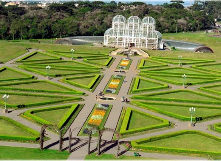 Jardín-Botánico-de-Curitiba-en-Brasil