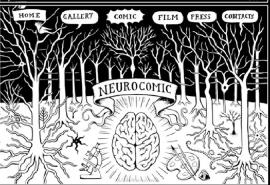Neurocomic- la novela gráfica que descubre el misterio del cerebro humano