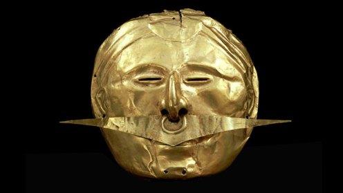 Mascara con ornamento de nariz © Museo Britanico