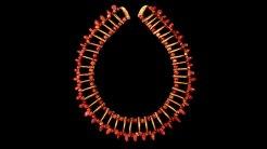 Collar con cuentas en forma de garras © Museo del Oro - Banco de la Republica, Colombia.