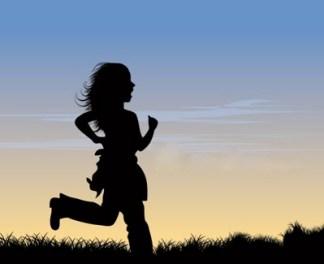silhouete-run