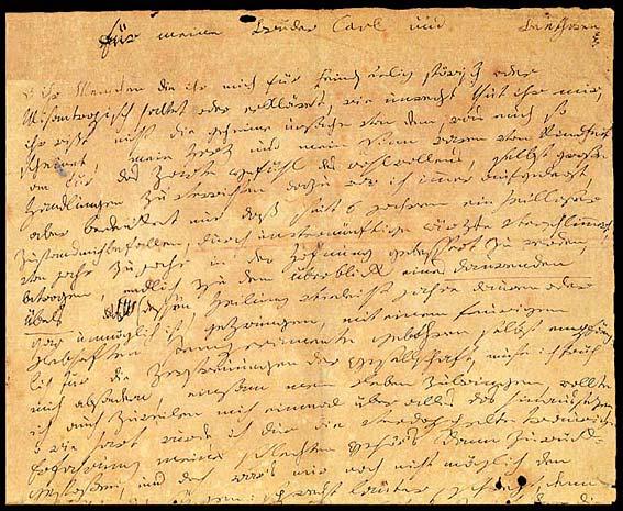 Testament Heiligenstadt, Beethoven