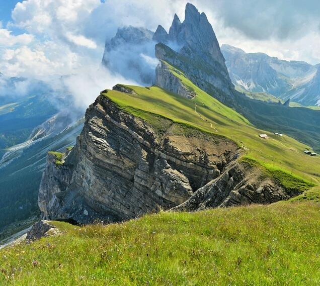 Montañas de Odle, Italia