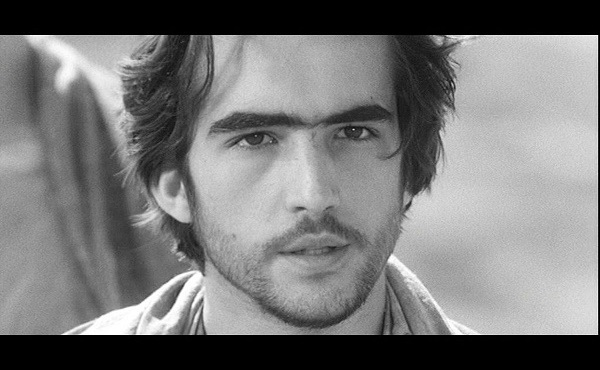 El actor Enrique Irazoqui en el papel de Jesucristo.