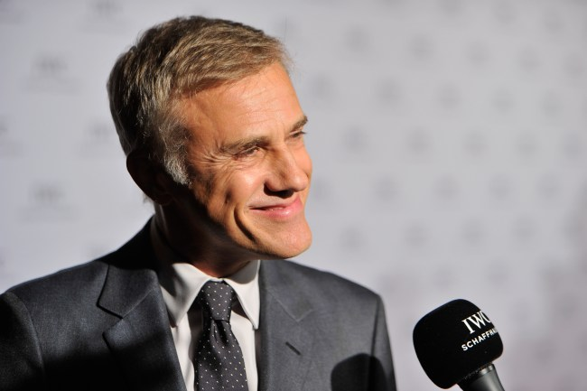 "ZURICH, SWITZERLAND - SEPTEMBER 26:  Actor Christoph Waltz attends the IWC Schaffhausen ""For the Love of Cinema"" Gala Dinner, during which Christoph Waltz presented the Filmmaker Award set up by the Association for the Promotion of Film in Switzerland (Verein zur Filmförderung in der Schweiz) on September 26, 2015 in Zurich, Switzerland. The Schaffhausen luxury watch manufacturer had invited over 200 VIP guests from the worlds of film, media, politics and commerce to the exclusive event, which was held at the Park Hyatt Zurich.  (Photo by Harold Cunningham/Getty Images for IWC)"