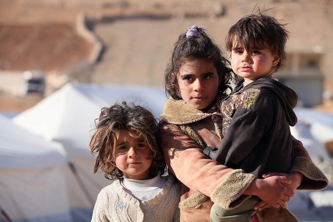 niños refugiados, david torres