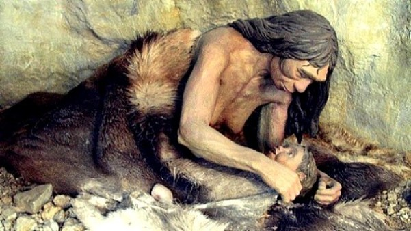 hominidos mezclados