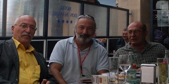 ANDREU MARTÍN, JOSÉ LUIS MUÑOZ Y JUAN MADRID